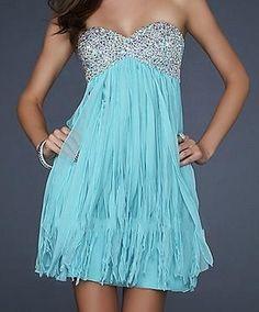pretty light blue dress!!!! <3 another idea maybe for maid of honor (do u like it maid of honor? lol u know who u r ;)