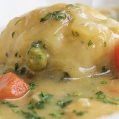 Cozy Chicken And Dumplings Cozy Chicken & Dumplings Soup Recipes, Great Recipes, Chicken Recipes, Dinner Recipes, Cooking Recipes, Healthy Recipes, Crockpot Recipes, Kitchen Recipes, Tasty Chicken Videos