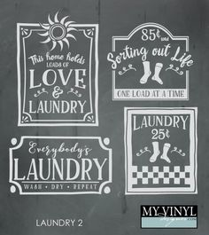 DIGITAL DOWNLOAD ... Laundry vectors in AI, EPS, GSD, & SVG formats @ My Vinyl Designer #myvinyldesigner