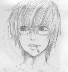 death note matt drawing