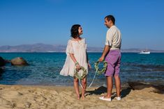 A Simple and Intimate Elopement Beach Wedding in Naxos Island, Cyclades Greece Naxos Greece, Greece Wedding, Cover Up, Wedding Photography, Italy, France, Island, Simple, Beach