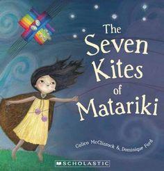 Beautiful award winning book 'The Seven Kites of Matariki'