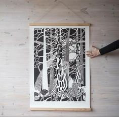 Cecilia Pettersson Limited Edition Fir Forest Print – Alice in Scandiland Print Release, Beautiful Forest, Home Bedroom, Vintage Furniture, Animal Print Rug, Contemporary, Wall Art, Interior