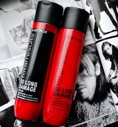 Matrix Total Results, SO LONG DAMAGE. Matrix Total Results, Matrix Hair, Hair Issues, Hair Brained, Up Hairstyles, Hairstyle Ideas, Damaged Hair, Healthy Hair, Hairdresser