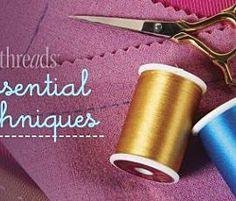 How to Sew Lace Seams - Threads