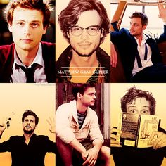 Matthew Gray Gubler. Please. Can he get anymore adorable? ;D