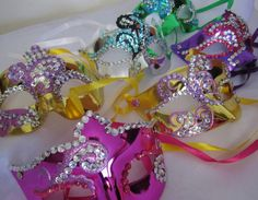 masquerade favors made by Davis Floral Creations