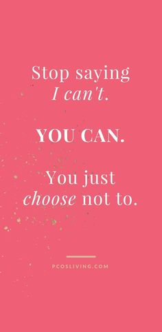 Decide that you CAN! // Positive Mindset Quotes // Stop saying can't // Believe . - Decide that you CAN! // Positive Mindset Quotes // Stop saying can't // Believe In Yourself // Qu - Belive In Yourself Quotes, Believe Quotes, Quotes To Live By, Love Quotes, You Are Quotes, Quotes About Being Yourself, Better Yourself Quotes, Awesome Quotes, Study Motivation Quotes