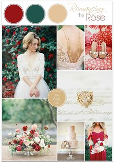 Red and Gold Wedding Ideas
