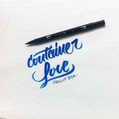 container love - one of my favourite songs from Phillip Boa #brush #brushpen #script #letters #lettering #letteringdesign #handfont #handmade #handtype #hellofont #hellotype #handmadefont #handmadetype #handlettering #custom #customfont #customtype #customlettering #font #freehand #fontoftheday #fontlettering #type #typo #typegang #typelover #typejunkie #typografie #typelettering