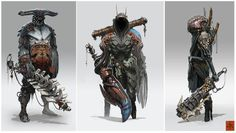 Concepts by Darren Bartley