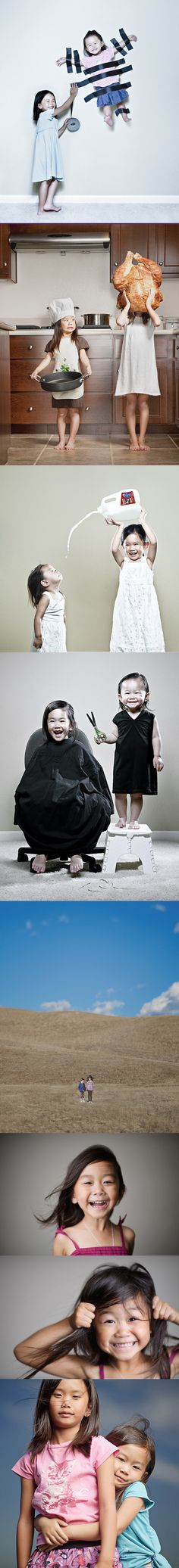 Wonderful photography of 2 adorable little girls, by father Jason Lee – http://kristinandkayla.blogspot.com.au/