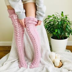 Thigh High Knit Socks, Boot Socks, Sexy Lingerie, Cool Winter, Flip Flop Socks, Fluffy Socks, Angora, Cozy Fashion, Tights