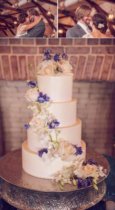 Four Tier Wedding Cake | PHOTO SOURCE • RICHARD BELL PHOTOGRAPHY