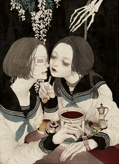 Artist: 黒川犬子 on pixiv