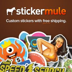 Custom Stickers, Die Cut Stickers, Bumper Stickers - Sticker Mule