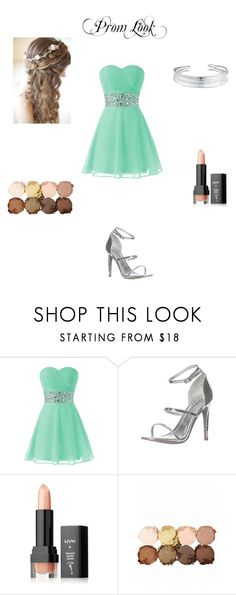 """""""Little Prom Dress"""" by albaoreo on Polyvore featuring Glamorous, NYX and Belk Silverworks"""