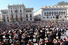 La música cofrade volverá, el 28 de febrero a la plaza de Santa María con Sonidos de Pasión