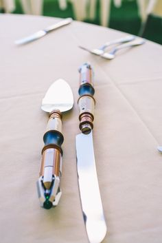 Sonci Screwdriver cake cutters for a Doctor Who wedding - Whovian Cake Cutters