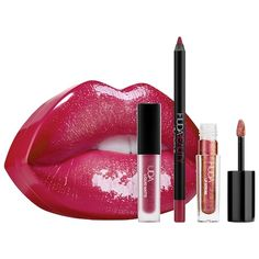 Contour & Strobe Lip Set - HUDA BEAUTY | Sephora