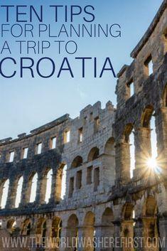 Is Croatia Expensive? A Croatia Trip Cost Guide - The World Was Here First Croatia Itinerary, Croatia Travel, Europe Travel Tips, Travel Destinations, Traveling Tips, Travel Articles, Holiday Destinations, Travel Advice, Budget Travel