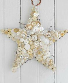 Vintage Totally White Home Cristmas Decorating Ideas -13