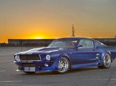 #HotRod magazine profiles two-time #OUSCI competitor, Ed Moss' '67 Mustang
