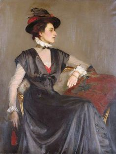 The Athenaeum - Portrait of Monica Boyd (George Spencer Watson - )