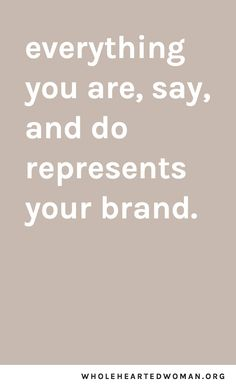 My Philosophy On Personal Branding: Why It's So Important & How To Do It — molly ho studio – Business marketing design Personal Branding, Branding Your Business, Personal Logo, Creative Business, Logo Branding, Positive Quotes, Motivational Quotes, Inspirational Quotes, Words Quotes