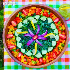 5 Cool Ways to Eat Kale! Raw food recipes for juices, smoothies, kale tacos, salads, kale chips, and more! Can you say KALE YEAH?! http://youtu.be/NuSysKbae5s
