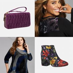 Velvet  Lush fabrics add a vintage feel to your plus size style this fall season