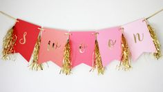 Banner by michiemay on Etsy
