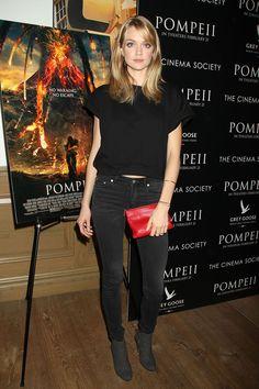 Lindsay Ellingson – 'Pompeii' Screening in New York, February 2014