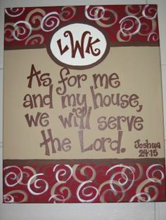 This may be my FAVORITE painted canvas to date! Love the colors, the monogram, and the amazing message!