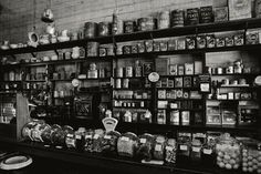 "Another pinner said: ""I find old general stores so interesting. Everything was displayed so perfectly."""