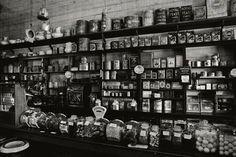 general store interior.