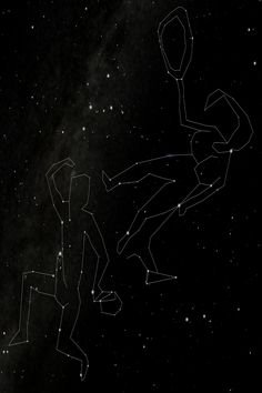 The Ancient Constellations are the largest work of art ever created! These new dot to dot drawings connect stars that are visible to the naked eye. Sagittarius And Capricorn, Gemini And Cancer, Dotted Drawings, Pagan Gods, Pagan Art, Triple Goddess, Zodiac Star Signs, Connect The Dots, Zodiac Art