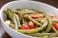 Tomatoes and Green Beans » Healthy Lunch Ideas