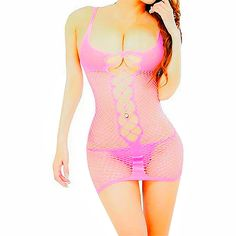 Daisland Sexy Lingerie for Women for Sex Fishnet Chemise Hot Mesh Mini Dress. Size: one size fits US Size XS, S, M L XL 2XL 3XL 4XL. Very stretchy. Material: polyester, etc, soft and comfortable to wear. Super sexy, more attractive, spicing up your sex life. Wash ways: hand-wash with cold water, or machine-wash with laundry bags to protect the lingerie. Package included: 1 body stocking. Jewelry, bra, underwear, and other accessories in the pictures are excluded in this item. Shipping and...