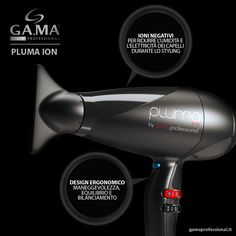 Gama Pluma ION #black: 2400 Watt of pure lightness in a professional #hairdryer that respects your hair thanks to ION technology. http://www.gamaprofessional.it/Asciugacapelli/Pluma_Ion_nero #gama #gamaprofessional #capelli #phon #asciugacapelli #beautytechnology #hair #dryer #hairdryers #blowdry #blowdryer #gama #gamaitalia #haircare #beauty #beautytechnology