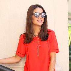Camila Coelho usa colar.  #elasusam #elasamam #priacessorios #prischiavinato #bijuteria #bijoux #acessórios   www.priacessorios.com.br