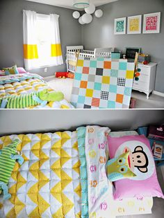 Shared Kids' Bedroom - Mixed Gender Neutral
