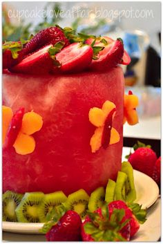 cake made entirely of fruit