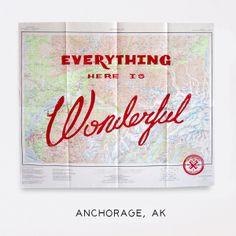 Best Made Company — Wonderful Silk Screened Maps