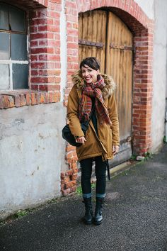 """I'm really liking these looks that Coline from """"et pour quoi pas coline"""", or """"And why not Coline,"""" a fashion blog. It is in French but there are links to where you can buy what she is wearing online!"""