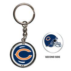 Chicago Bears Spinner Key Ring - $7.99