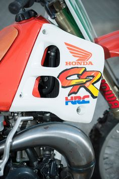 Trampas Parker's 1991 CR250