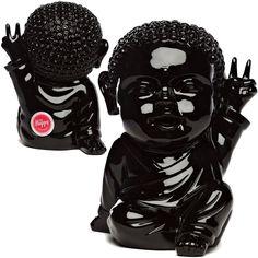Iki Bouddha Pop  Edition limitée - Noir