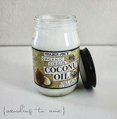 { according to ame }: Test Driven::: Raw Coconut Oil as Moisturizer