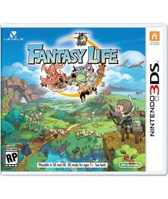 Fantasy Life my favourite 3DS game.